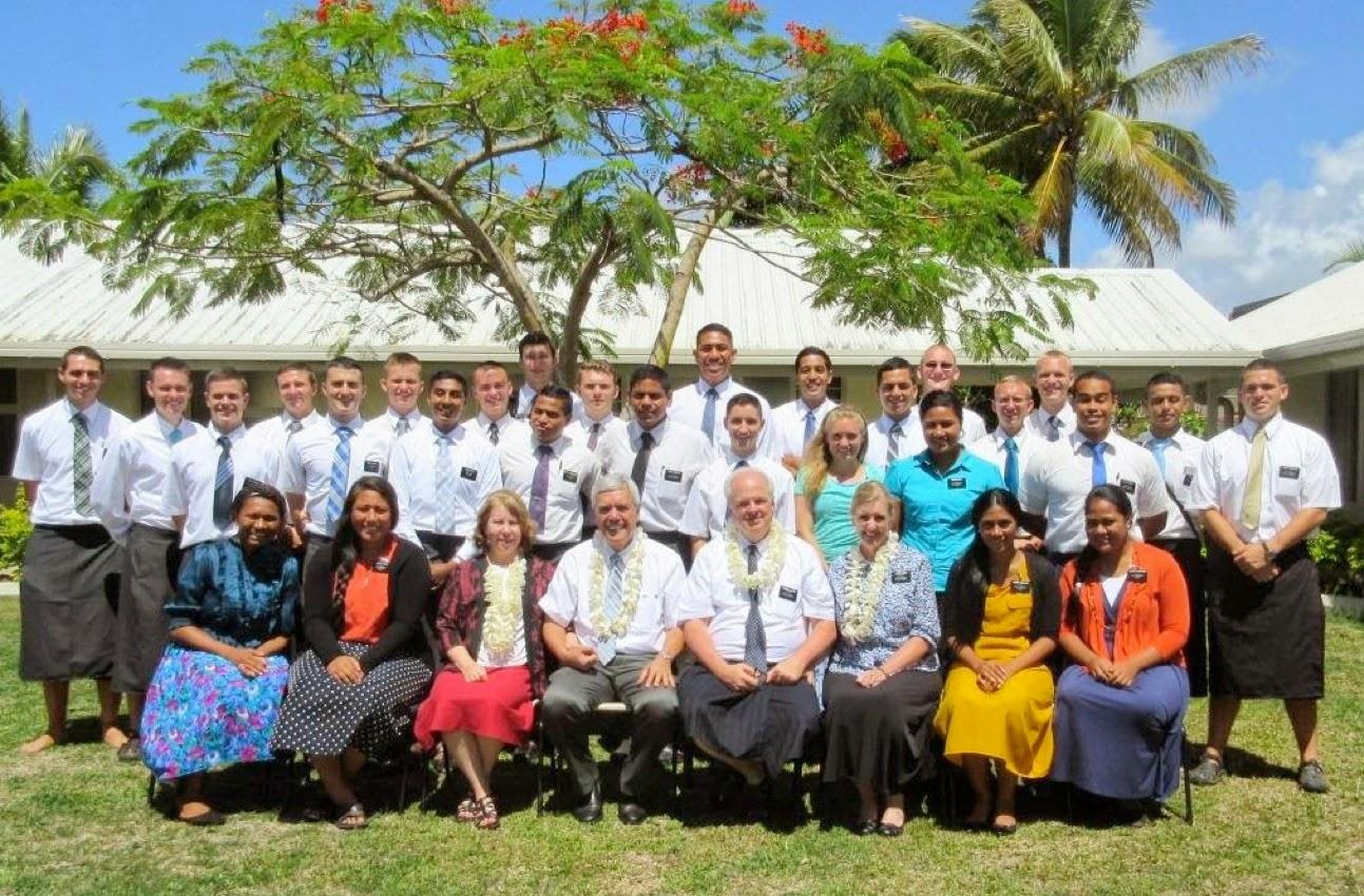 Fiji missionaries
