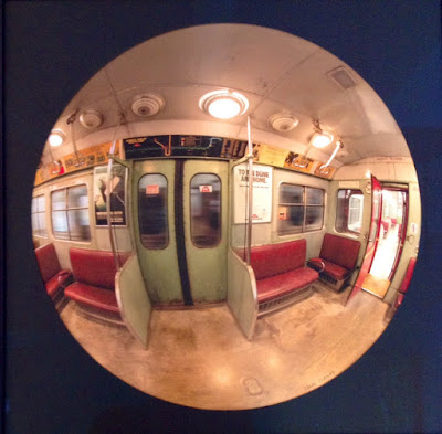 Toronto Subway, mirror, photography, Edser Thomas