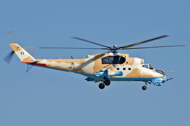 Mi-35 Hind (NAF 261)