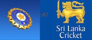 Live Cricket India vs Sri Lanka