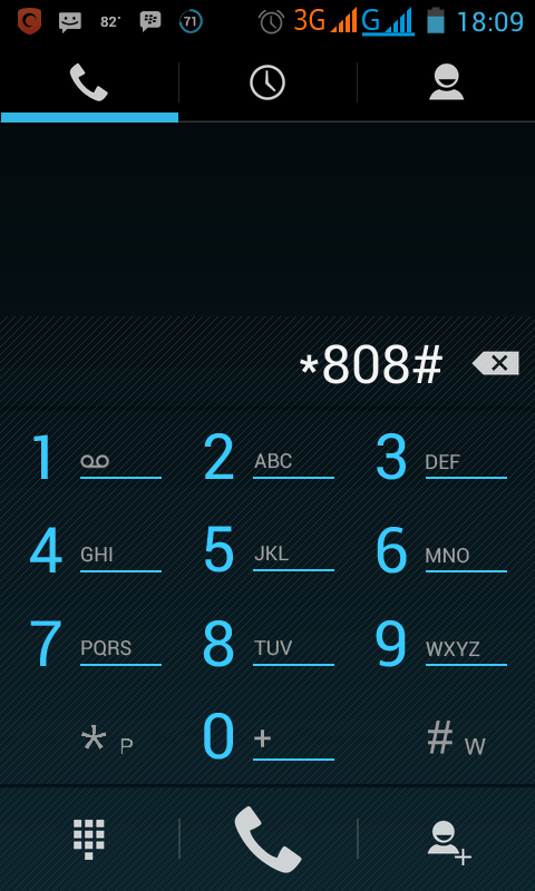 Tekan *808# Call