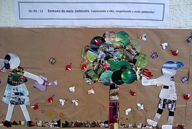 Din mica centro educacional 3 ano mural da semana do for Mural de natal 4 ano