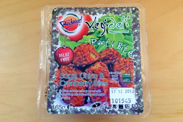 Redwood Party Bites - Vegan Stuffing