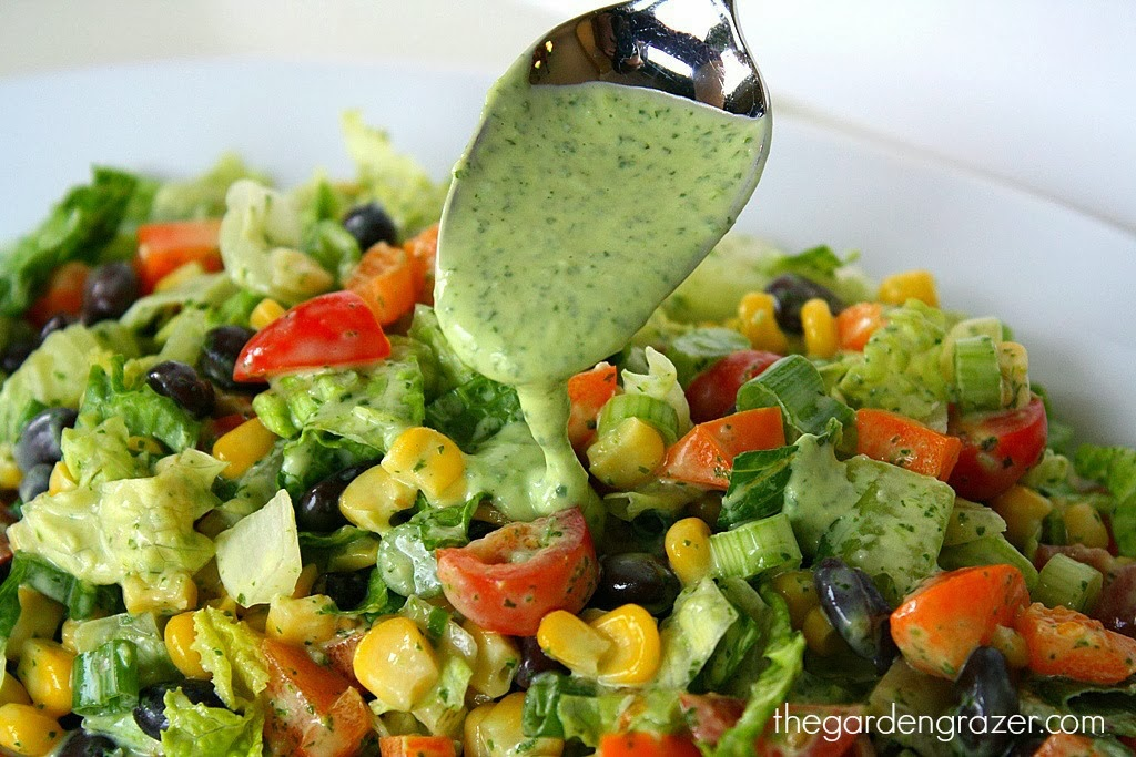 Southwestern Salad The garden grazer: southwestern chopped salad with ...