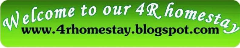 Welcome to our 4R Homestay