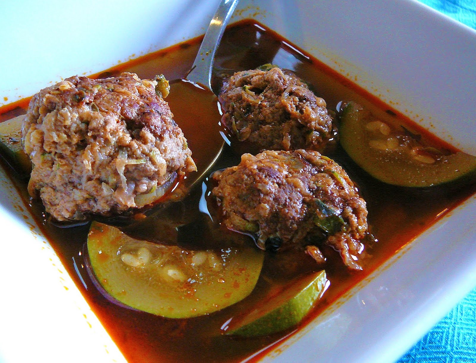 ... albondigas) soup. Three words. One simple meal. Huge impact on my