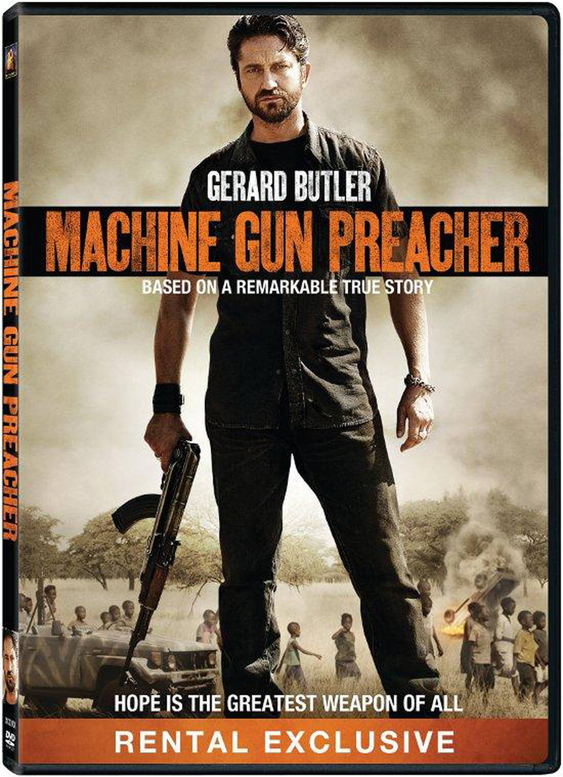 Machine Gun Preacher DVD Case Box