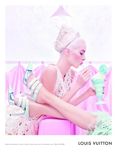 Louis Vuitton's delicious SS '12 Ad Campaign***
