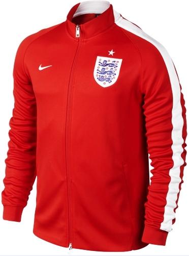 Jaket Grade Ori Inggris Home Merah Terbaru Di Piala Dunia 2014