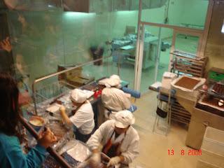 Fábrica de chocolate em Bariloche - AR