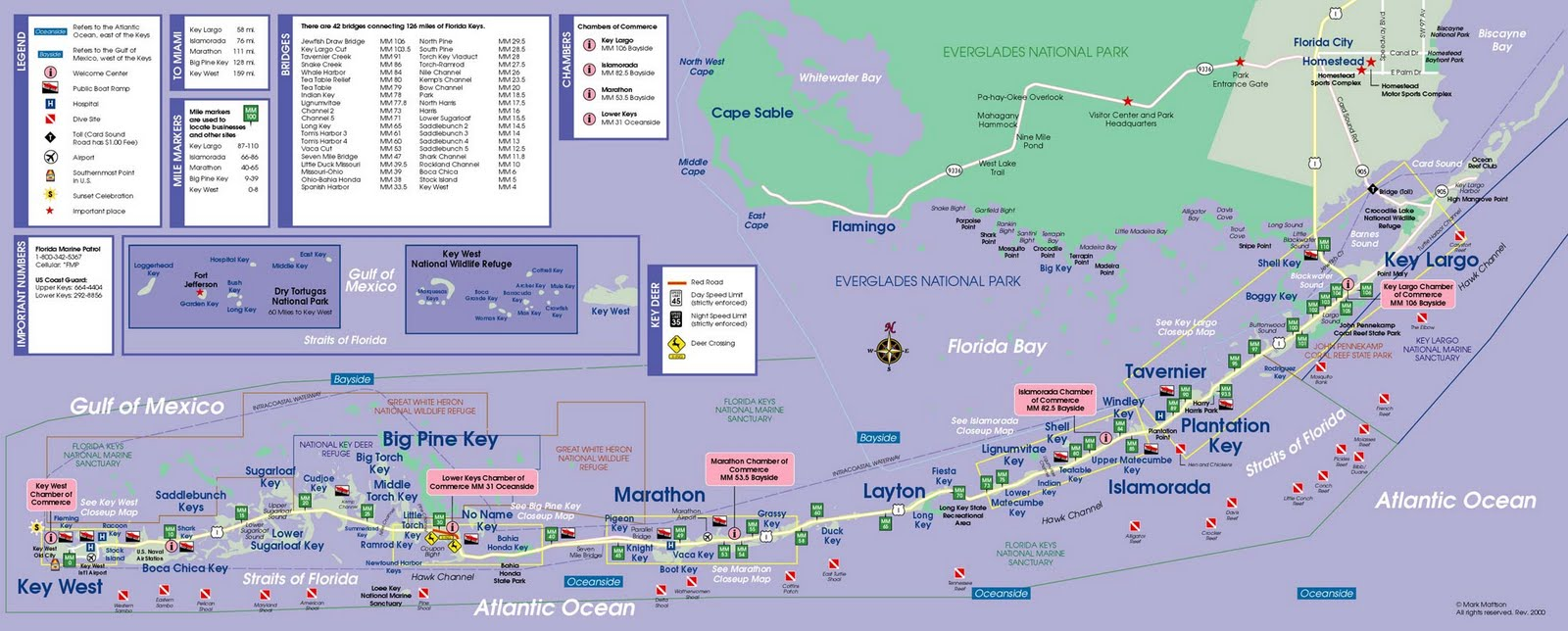 Map Of Florida Keys World Map - Florida map printable