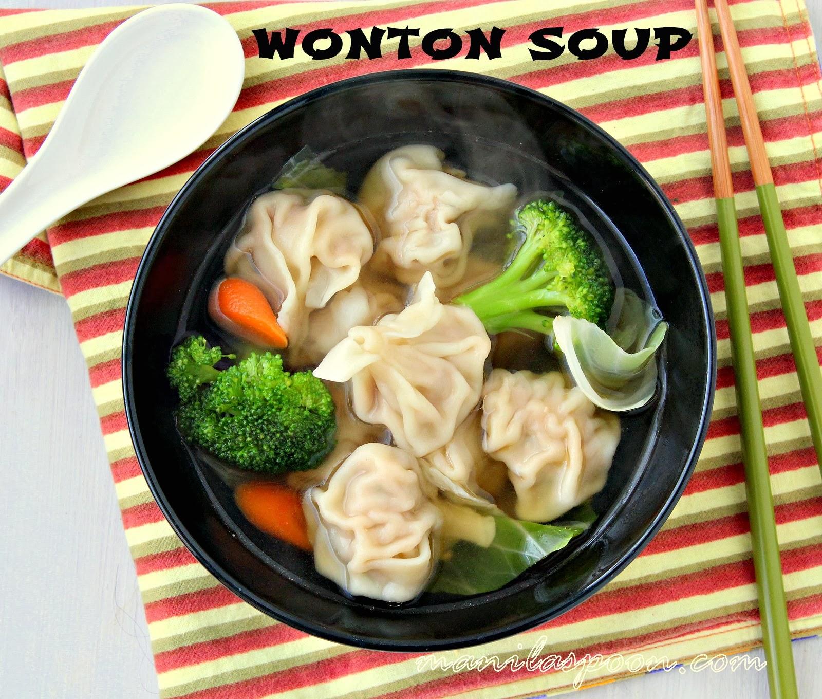 Wonton Soup | Manila Spoon