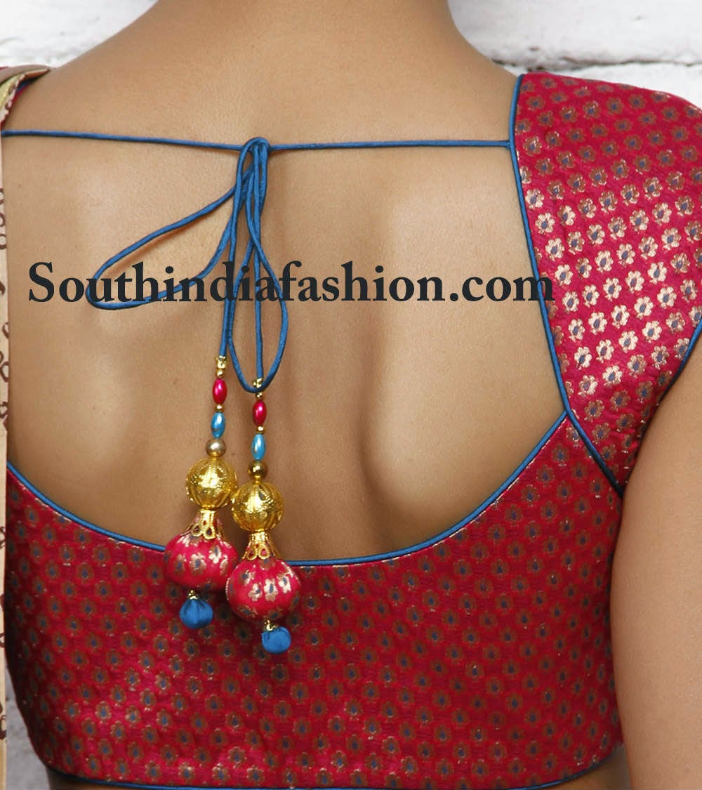 latest and trendy blouses for sarees