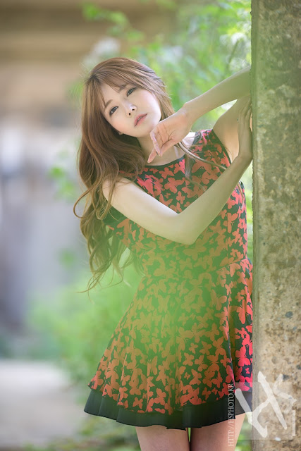 4 Han Ga Eun - Lovely Ga Eun In Outdoors Photo Shoot - very cute asian girl-girlcute4u.blogspot.com