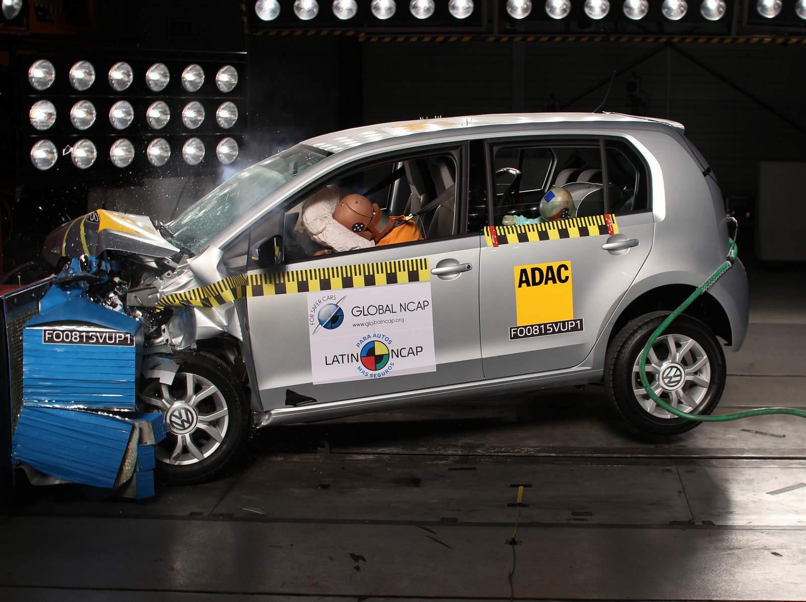 Volkswagen up! - Latin NCAP - teste de impacto