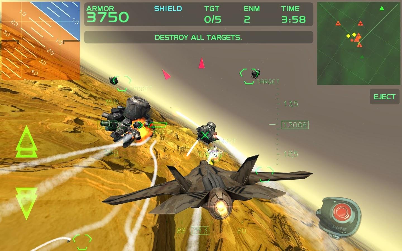 Fractal Combat X (Premium) Android Game