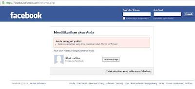 Solusi Tidak Bisa Login Facebook