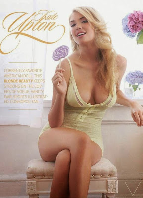 Kate Upton hot poses in sexy lingerie for The Men magazine