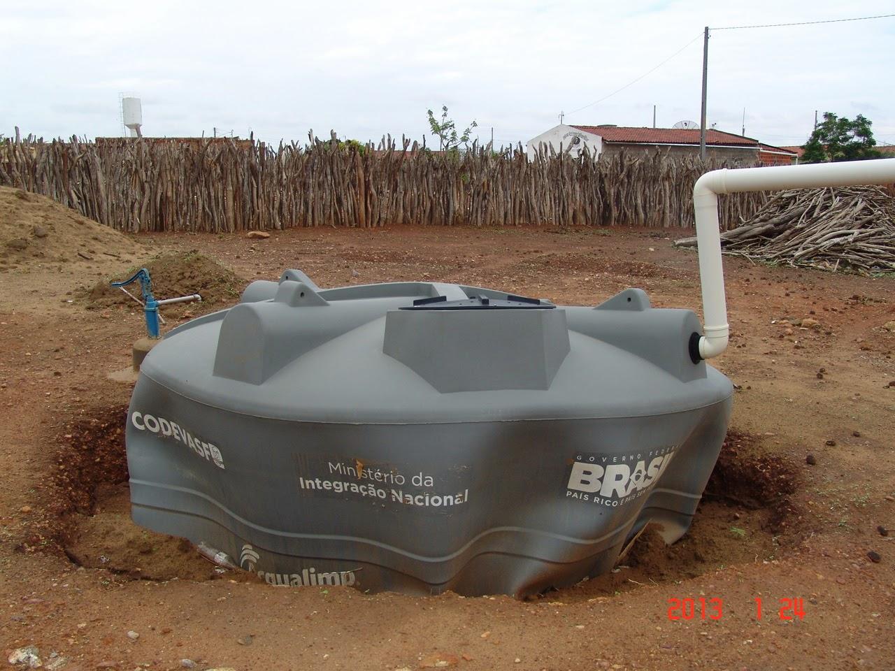 Os problemas da cisterna de plástico