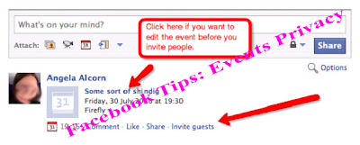 Facebook Tips: Events Privacy