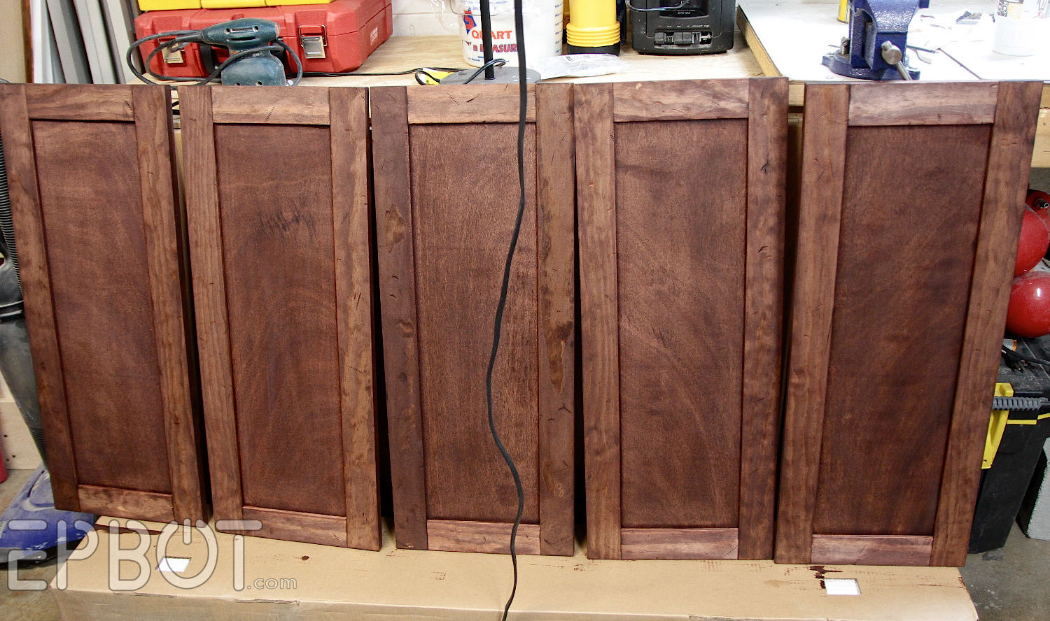 Making Kitchen Cabinet Doors Epbot Diy Vintage Rustic Cabinet Doors