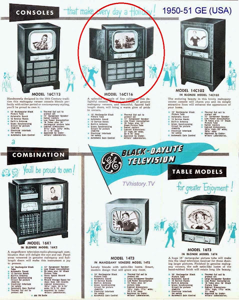 1950-51 GE Television Brochure