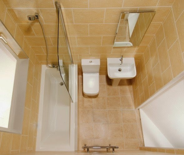 Home decorating interior design ideas the best tips for for Tiny bathroom layout