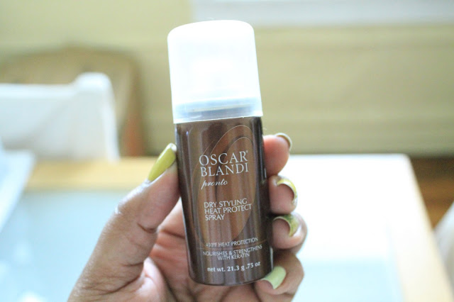 Oscar Blandi Heat Protect Spray - Beauty Review