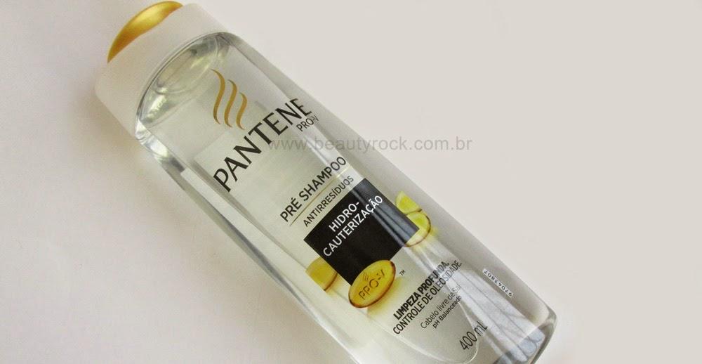 Resenha: Pré-Shampoo Pantene Antirresíduos Hidro Cauterização