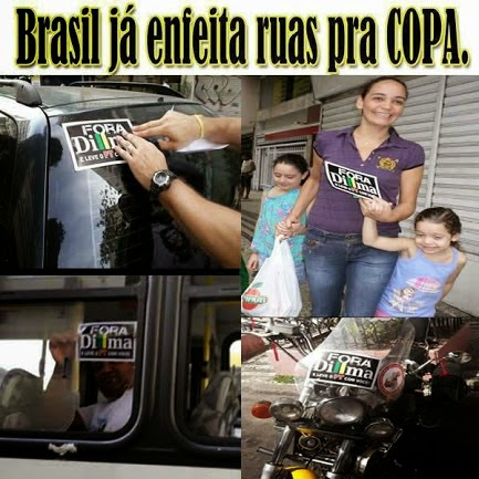 Fora Dilma! Fora PT!