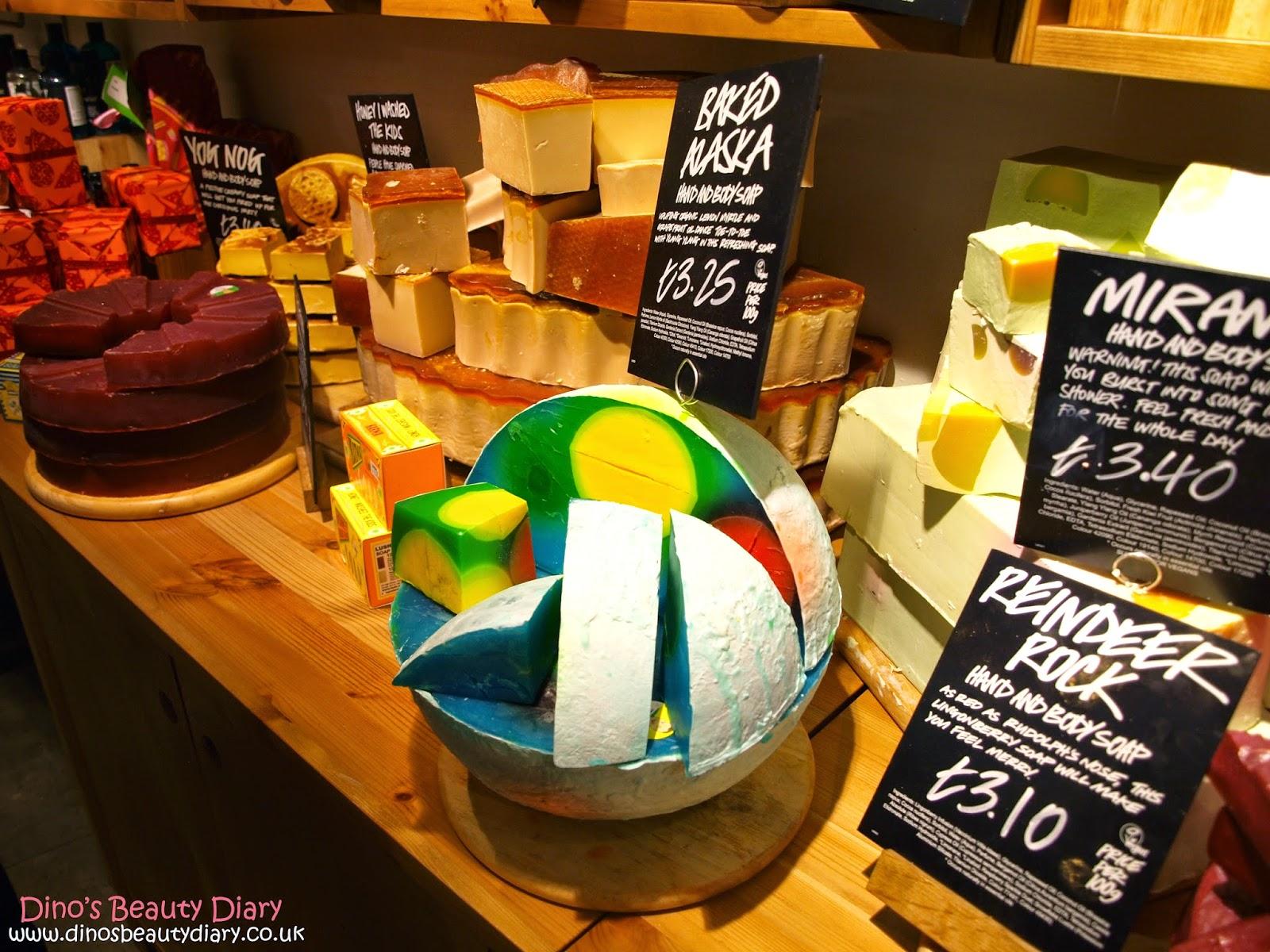 Dino's Beauty Diary - Lush Nottingham Bloggers Event - baked alaska soap