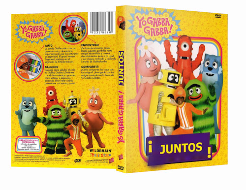 Yo Gabba Gabba! ¡Juntos! DVD Full Español Latino 2012
