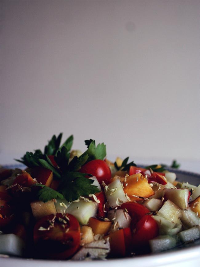 petiscosemiminhos salada de ver o pepino p ssego e. Black Bedroom Furniture Sets. Home Design Ideas