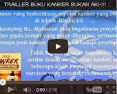 VIDEO TRAILLER BUKU KANKER BUKAN AKHIR DUNIA