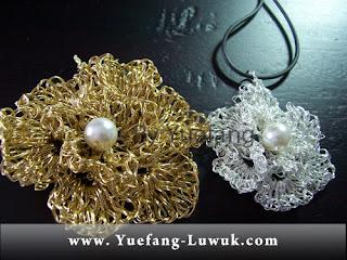 Bunga_Kamboja_wire_crochet_double_26_gauge_brass_wire