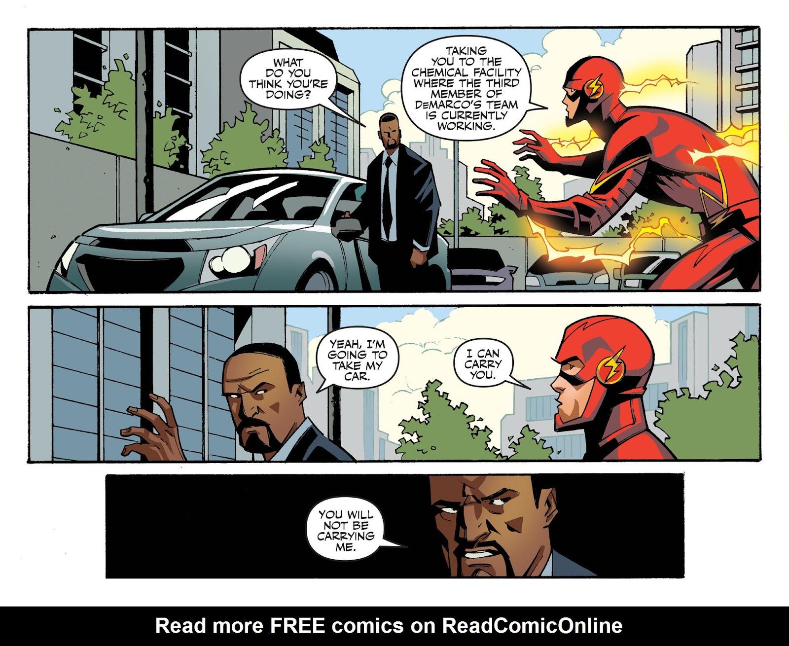 The Flash: Season Zero [I] Issue #12 #12 - English 15