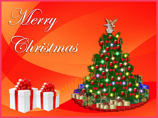 2012 merry Christmas tree Wallpapers