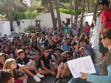 PRIMERS CRITERIS DE CONVIVÈNCIA. GRUP D'ALUMNES 2012 I MONITORS