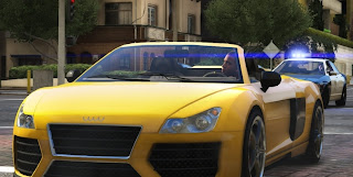 gta V yellow car
