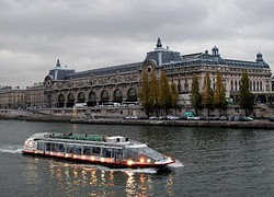 Crucero por el rio Sena de París