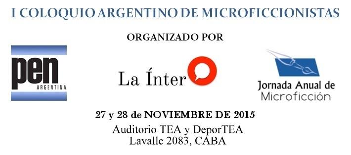 Primer Coloquio Argentino de Microficcionistas