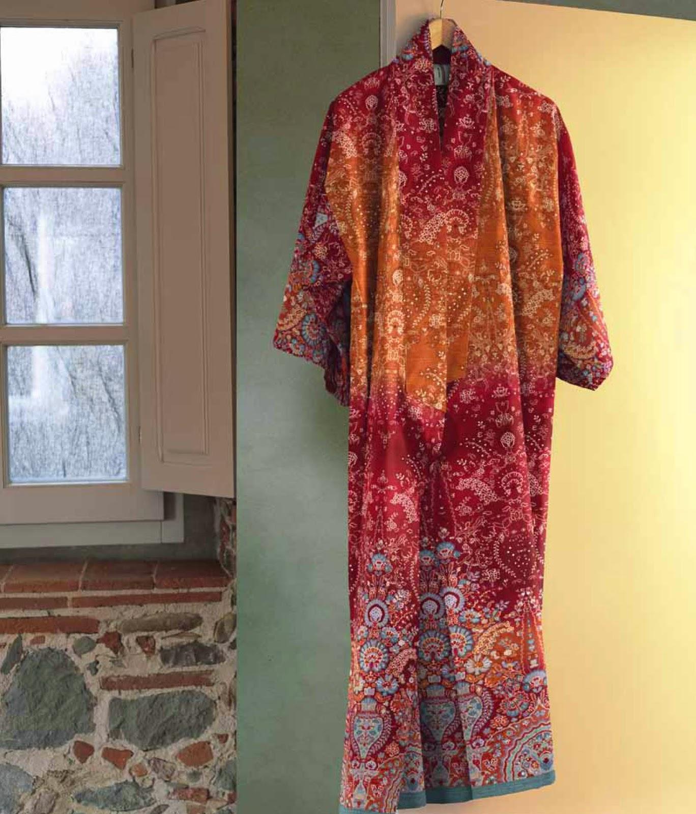 Rialto Bassetti Granfoulard. Kimono