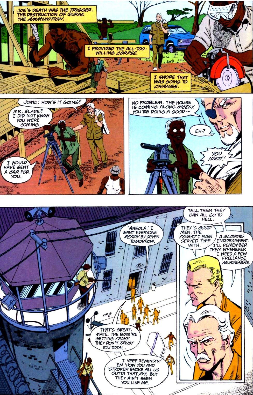 Deathstroke (1991) Issue #26 #31 - English 3