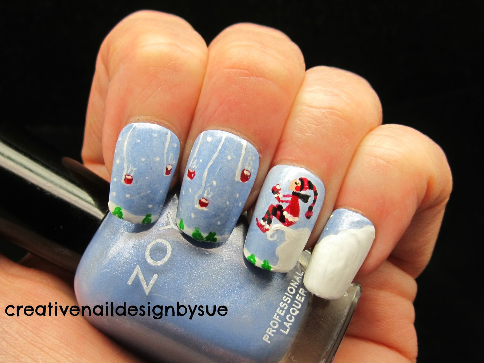 A Little Polish: Holiday Happy Hour - Guest Post by Creative Nail ...