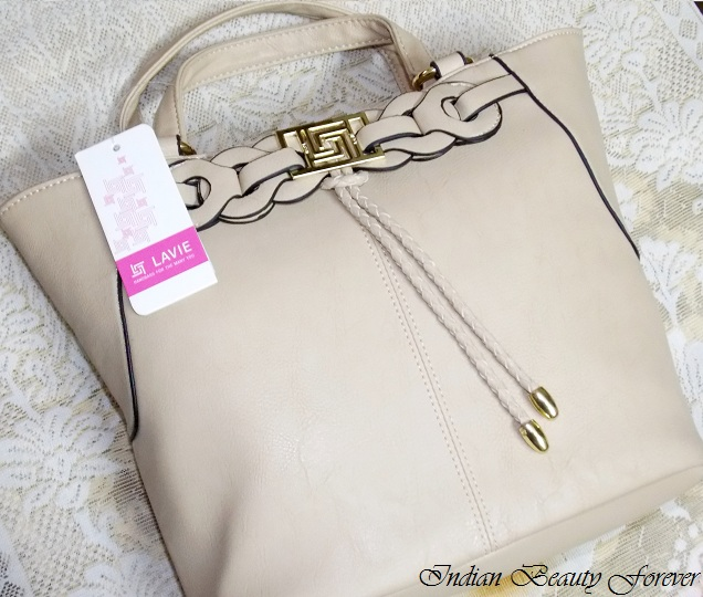 Lavie Beige Shopper bag  review
