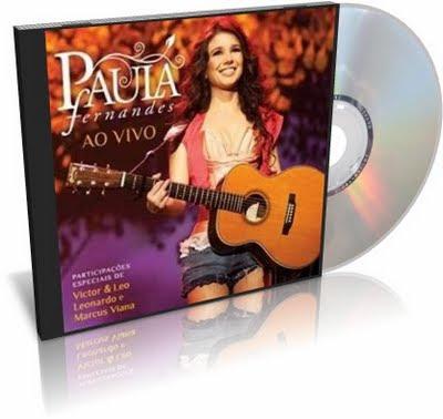 CD Paula Fernandes Ao Vivo 2011