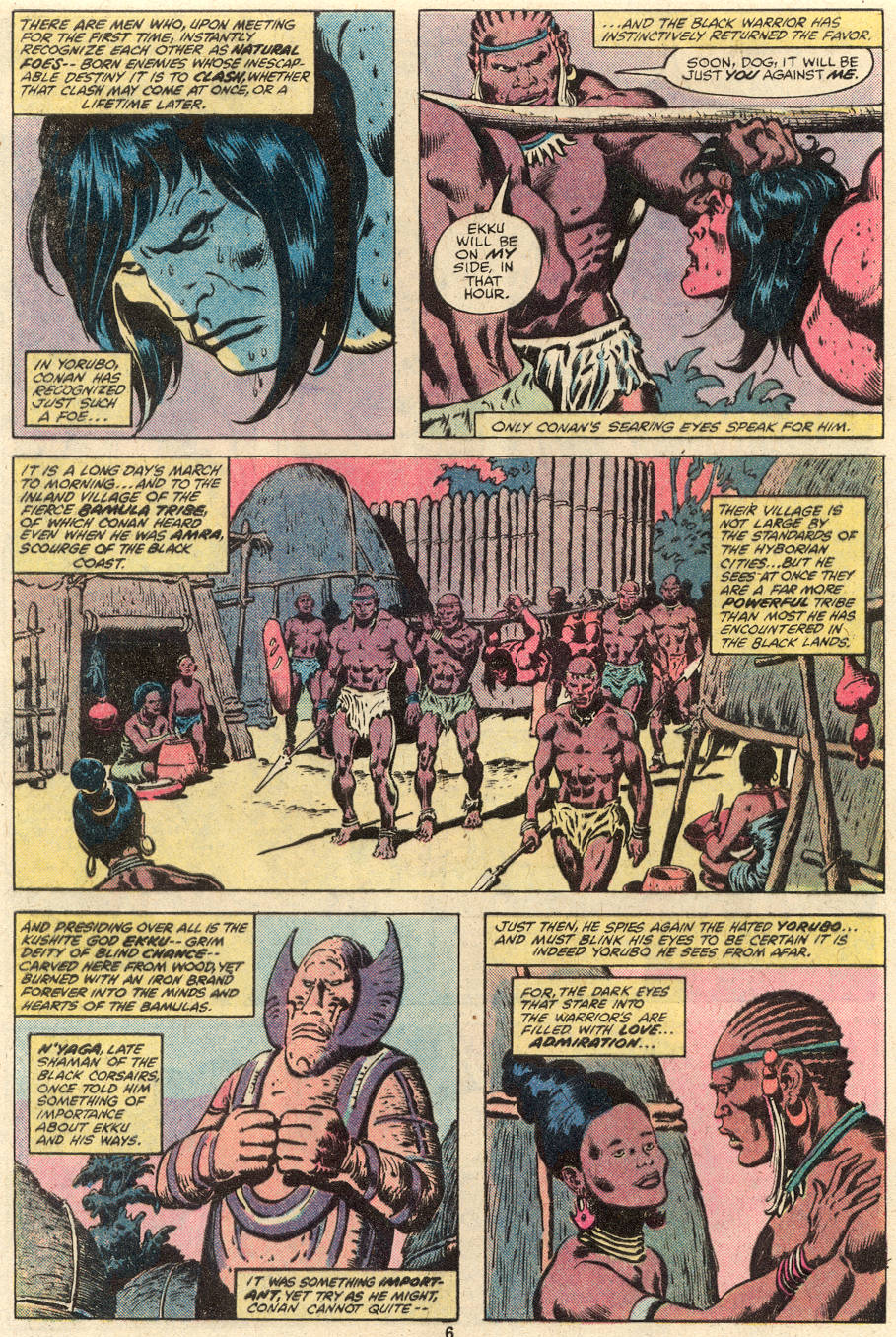 Conan the Barbarian (1970) Issue #101 #113 - English 6