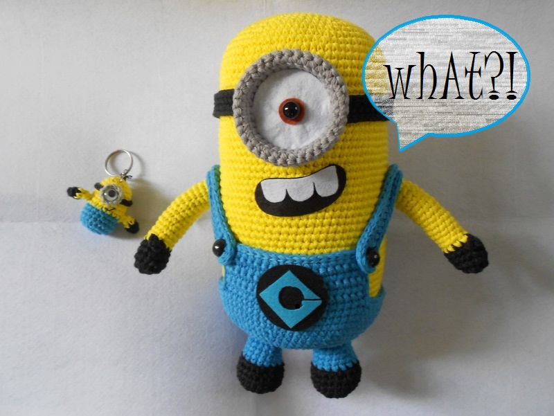 Amigurumi Minion Hakelanleitung : Firefly Crochet: Crochet Amigurumi minions
