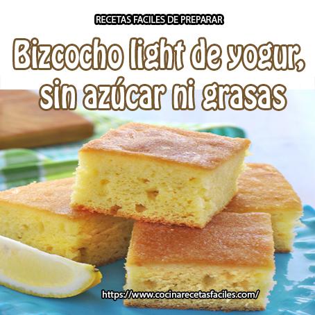 Recetas de pastel sin grasa