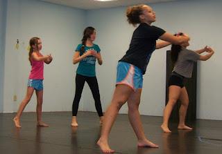 contemporary modern dance class charlotte